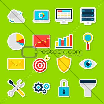 Business Analytics Stickers
