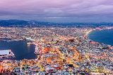 Hakodate, Hokkaido, Japan Skyline