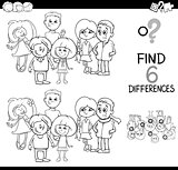 spot the difference coloring page