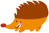 hedgehog cartoon animal character