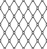 Seamless diamonds pattern. Geometric latticed texture.