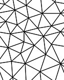 Seamless polygonal pattern