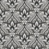 Vector damask seamless pattern