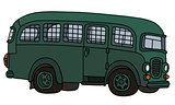 Funny prison bus