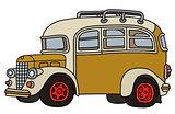 Funny vintage bus