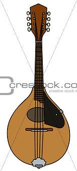 Classic portugal mandolin