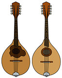 Two portugal mandolins