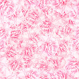 SEAMLESS pattern of peony blossoms