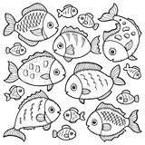 Fish drawings theme image 1
