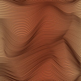 Abstract seamless pattern in brown hues