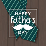 Fathers Day Background. Best Dad Vector Illustration