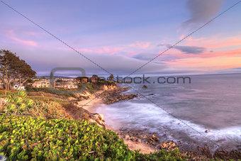 Little Corona Beach in Corona Del Mar
