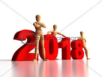 2018 New Years Team