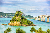 Kouri Bridge in Okinawa