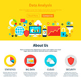 Data Analysis Web Design