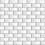 White old gradient brick seamless