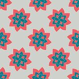 Sacred mandala pattern