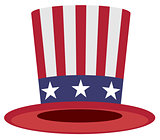 Uncle Sam hat symbol of America