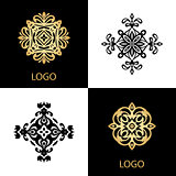 Luxury Logo template ornamental business sign
