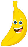 cartoon banana fruit character