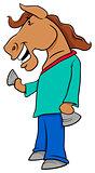 horse character cartoon