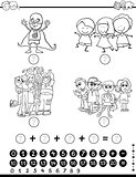 mathematics activity for coloring