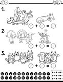 algebra activity coloring page