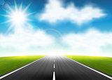 Highway to the horizon