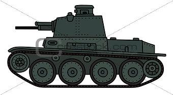 Classic light tank