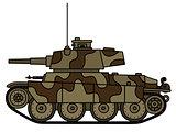 Old light tank