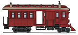 Vintage small motor passenger train