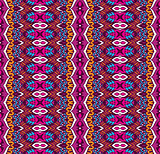 aztec tribal abstract geometric pattern