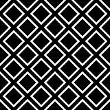 Tile black and white vector pattern