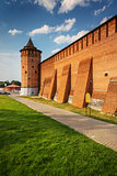 defensive wall and tower of the Kolomna Kremlin