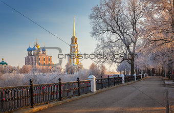 cathedral bell tower of Ryazan kremlin,  XVIII-XIX century, Russ