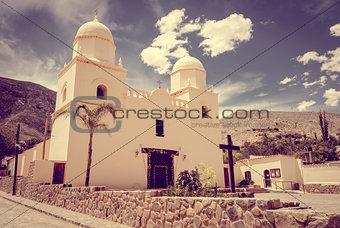 Tilcara church, Argentina
