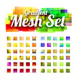 Set of gradient meshes for your design