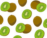 Much fruits kiwi