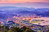 Sasebo, Japan Skyline