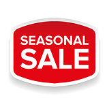 Seasonal Sale sticker