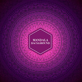 Elegant background with mandala design