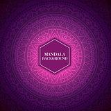 Elegant background with mandala design