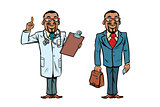 African doctor and businessman