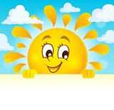 Happy lurking sun theme image 4