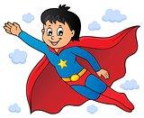Super hero boy theme image 1