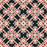 Luxury star Damask seamless tiled motif pattern