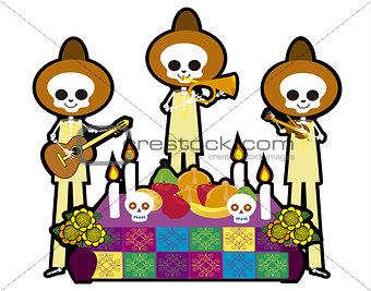 skull Musicians