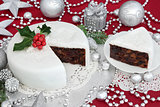 Traditional Iced Christmas Cake