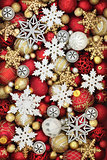 Snowflake and Christmas Bauble Decorations