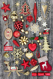 Christmas Symbols with Decorations